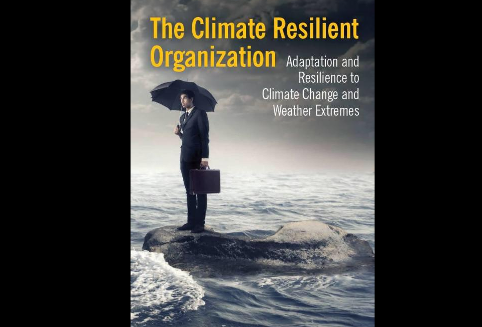 The Climate Resilient Organization - book cover