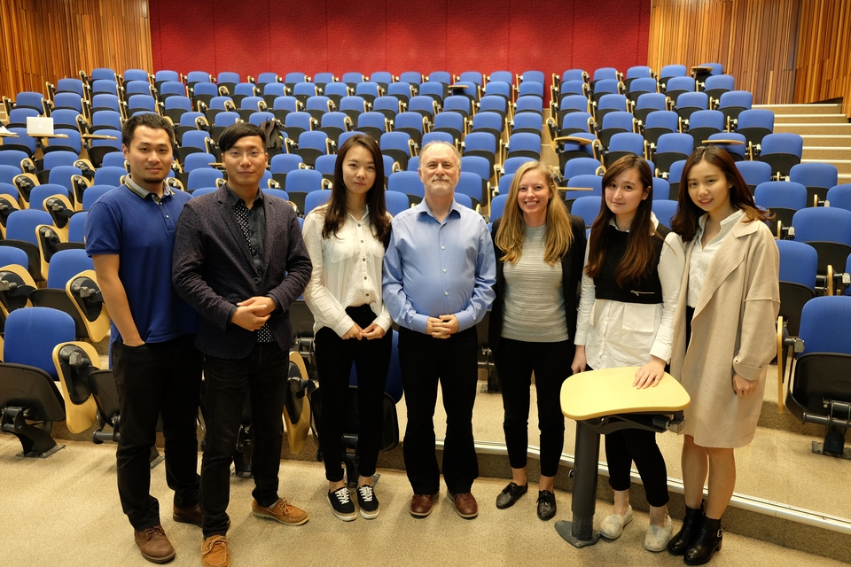 UQ Business school students completed an industry brand audit