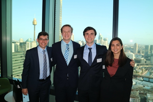 Finance students place 3rd in CFA Institute Research Challenge