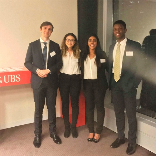 UQ team at the UBS Investment Banking Challenge