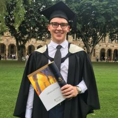 Benjamin Wiltshire, UQ Bachelor of Commerce (Honours) graduate