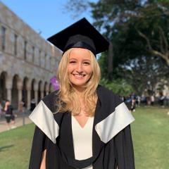 The UQ graduate forging a successful career in finance
