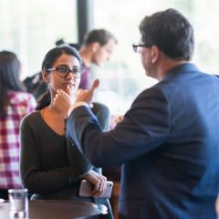 Business School Postgraduate Networking Event